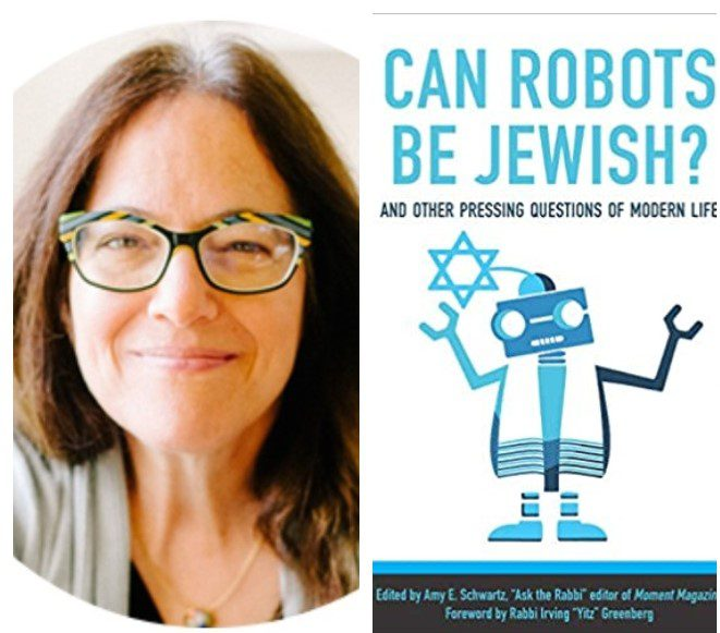 Shabbat Morning Service and Rabbi's Table with Amy Schwartz:  Can Robots Be Jewish?  May 1, 2021 • 10:00 a.m.