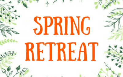 Spring Retreat on Zoom!Sunday, April 25, 2021 • 3:00 – 4:30 p.m.